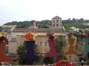 Vista de Sant Pere de Galligants